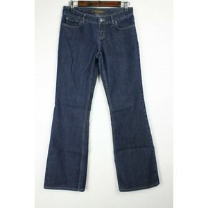 The Limited Boot Cut Jeans Dark Wash Stretch
